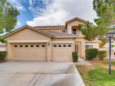 Las Vegas Single Family Home For Sale: 10539 Brownsville Avenue