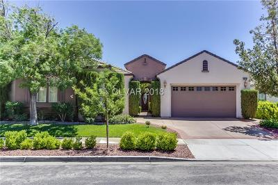 Las Vegas NV Single Family Home Under Contract - No Show: $510,000