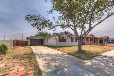 Las Vegas Single Family Home Under Contract - No Show: 4919 Elaina Avenue