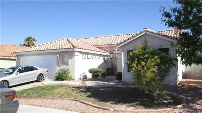 North Las Vegas Single Family Home For Sale: 1827 Night Shadow Avenue