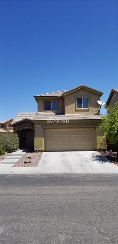 North Las Vegas Single Family Home Under Contract - No Show: 4224 Galapagos Avenue