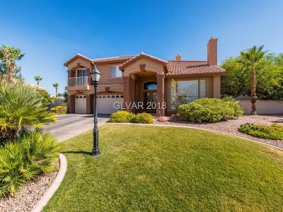 Las Vegas Single Family Home For Sale: 8705 Kingship Court
