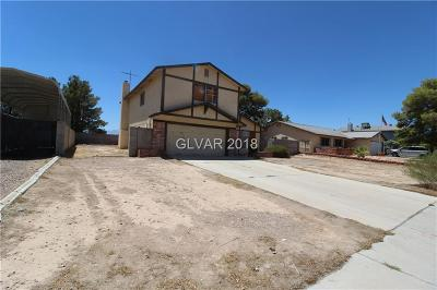 Las Vegas Single Family Home Under Contract - No Show: 1795 Mt Hood Street