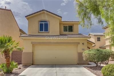 Las Vegas NV Single Family Home Under Contract - No Show: $283,000