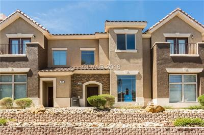 Henderson NV Condo/Townhouse Under Contract - No Show: $240,000