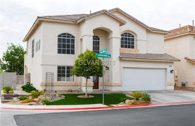 Las Vegas Single Family Home For Sale: 8124 Caramel Gorge Court