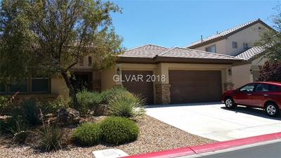 North Las Vegas Single Family Home For Sale: 3725 Fledgling Drive