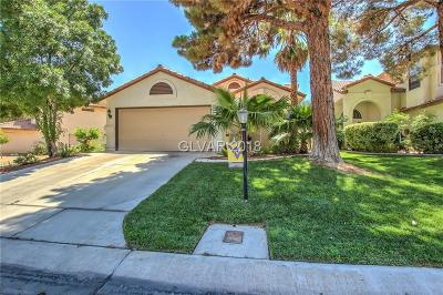 Las Vegas Single Family Home Under Contract - No Show: 4865 Maryvale Drive