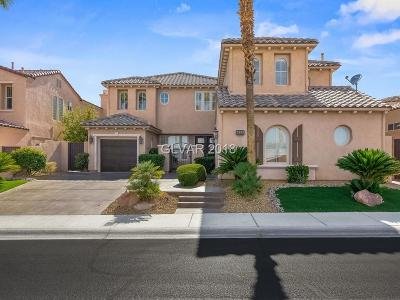 Red Rock, Red Rock Cntry Club At Summerl Single Family Home For Sale: 2893 Red Springs Drive