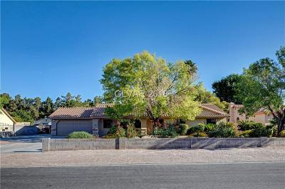 Las Vegas Single Family Home Under Contract - No Show: 7385 Severence Lane