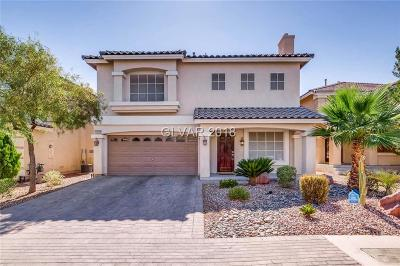 Las Vegas Single Family Home Under Contract - No Show: 10923 Carberry Hill Street