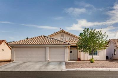 NORTH LAS VEGAS Single Family Home For Sale: 1209 Cobblestone Cove Road