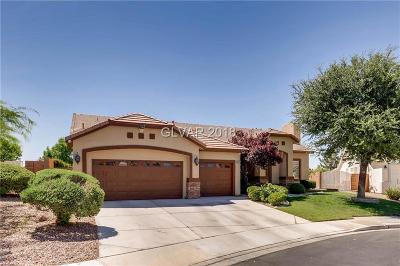 Henderson Single Family Home Under Contract - No Show: 2547 Serenity Hollow Drive
