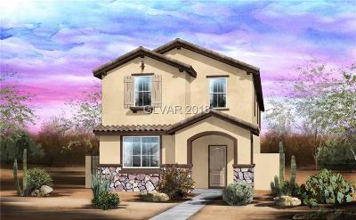 Henderson Single Family Home Under Contract - Show: 3008 Via Contessa #lot 141