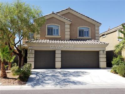 Las Vegas Single Family Home Under Contract - No Show: 172 West Tall Ruff Drive