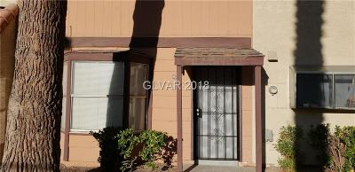 Las Vegas Condo/Townhouse For Sale: 862 Slumpstone Way