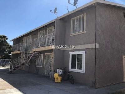 North Las Vegas Multi Family Home Under Contract - No Show: 2304 Saturn Avenue