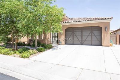 North Las Vegas Single Family Home For Sale: 5624 Galivan Vista Street