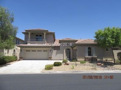 Henderson, Las Vegas Single Family Home Under Contract - No Show: 7524 Cliff Peaks Street