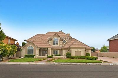 Boulder City Single Family Home Under Contract - No Show: 1505 Sunrise Circle