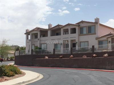 Boulder City Condo/Townhouse For Sale: 262 Big Horn Drive #262