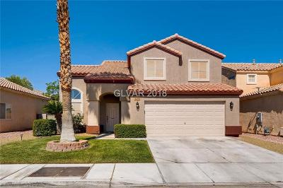 Las Vegas Single Family Home Under Contract - Show: 3625 Mountain Crest Street