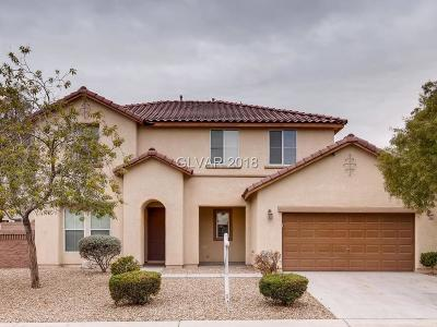 North Las Vegas Single Family Home For Sale: 4913 Madre Maria Court