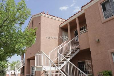 North Las Vegas Condo/Townhouse For Sale: 3318 Decatur Boulevard #2070