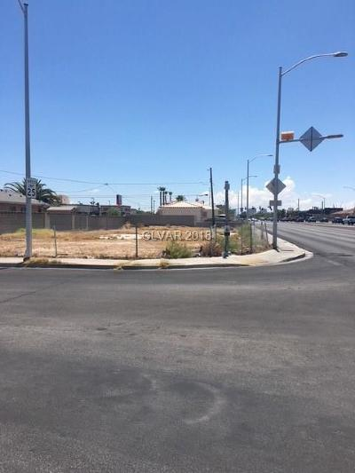 North Las Vegas Residential Lots & Land For Sale: 2090 Martin L King Boulevard
