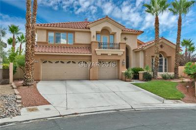 Las Vegas NV Single Family Home For Sale: $585,000