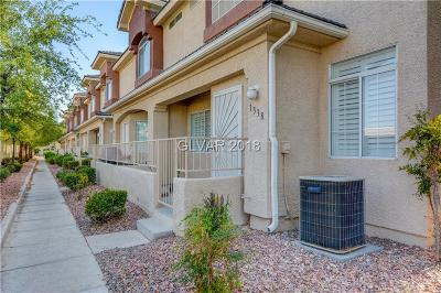 Condo/Townhouse Under Contract - No Show