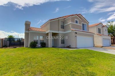 North Las Vegas Single Family Home For Sale: 3519 Farina Drive