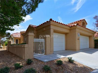 Las Vegas Condo/Townhouse Under Contract - No Show: 8169 Round Hills Circle