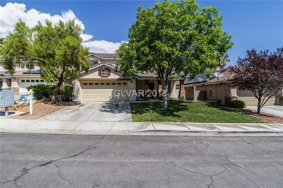 Las Vegas Single Family Home For Sale: 1109 Enderly Lane