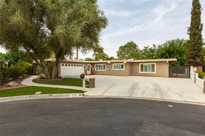 Las Vegas Single Family Home For Sale: 2505 Laurie Drive