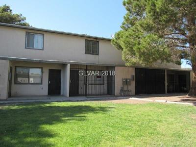 North Las Vegas Condo/Townhouse For Sale: 3533 Rio Robles Drive #C