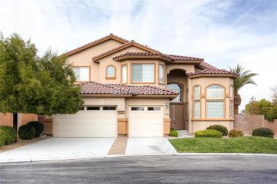 Las Vegas Single Family Home For Sale: 5130 Villa Dante Avenue