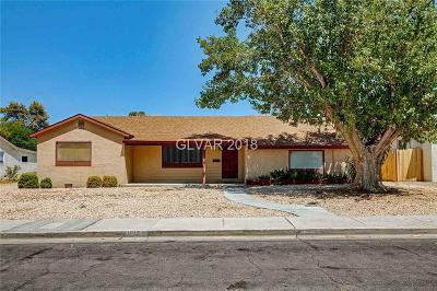 Las Vegas  Single Family Home For Sale: 1213 Barnard Drive