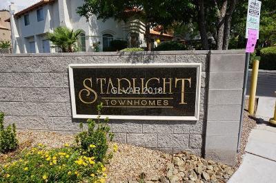 Las Vegas Condo/Townhouse For Sale: 3459 Twilight Star Drive