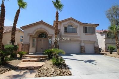 Las Vegas Single Family Home For Sale: 7957 Darby Avenue