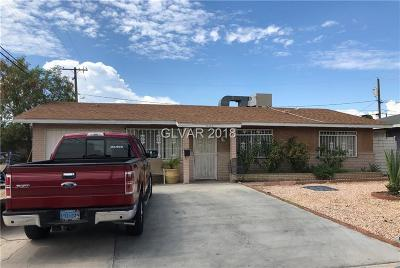 North Las Vegas Single Family Home Under Contract - No Show: 905 Stanley Avenue