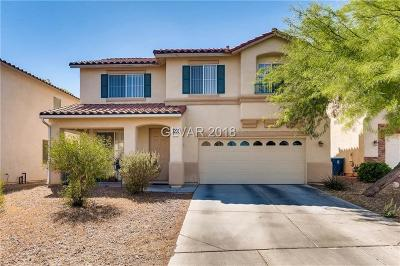 Las Vegas Single Family Home For Sale: 3203 Lapis Beach Drive