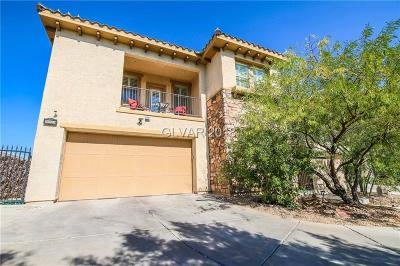 Las Vegas, North Las Vegas, Henderson Single Family Home For Sale: 200 Via Luna Rosa Court