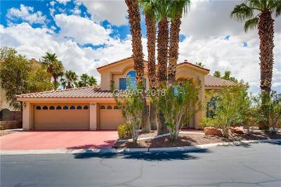 Las Vegas Single Family Home For Sale: 6385 Black Swan Lane