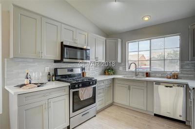 Las Vegas Single Family Home Under Contract - No Show: 2829 Windstorm Avenue