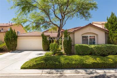 Las Vegas Single Family Home Under Contract - No Show: 7587 Mesa Verde Lane