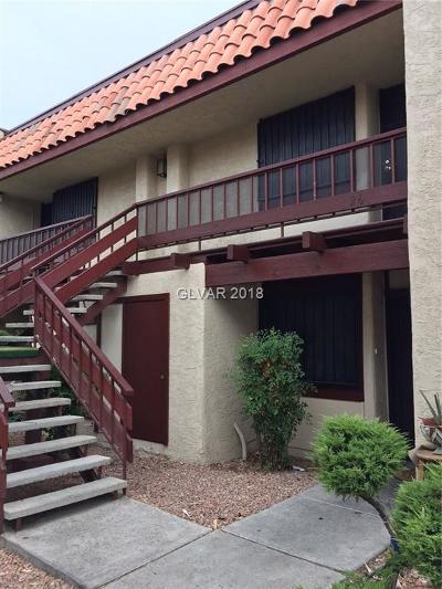 Las Vegas NV Condo/Townhouse For Sale: $99,000
