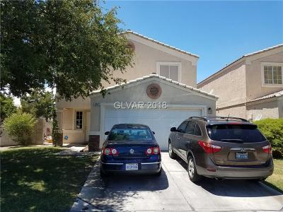 North Las Vegas Single Family Home Under Contract - No Show: 3241 Bridge House Street