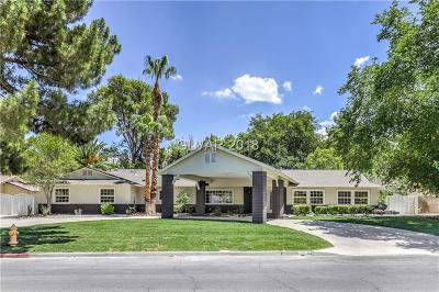 Las Vegas Single Family Home Under Contract - No Show: 217 Campbell Drive