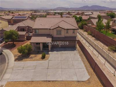 North Las Vegas Single Family Home For Sale: 3904 Copper Stone Court